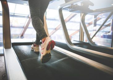 Cardio Running on a Treadmill